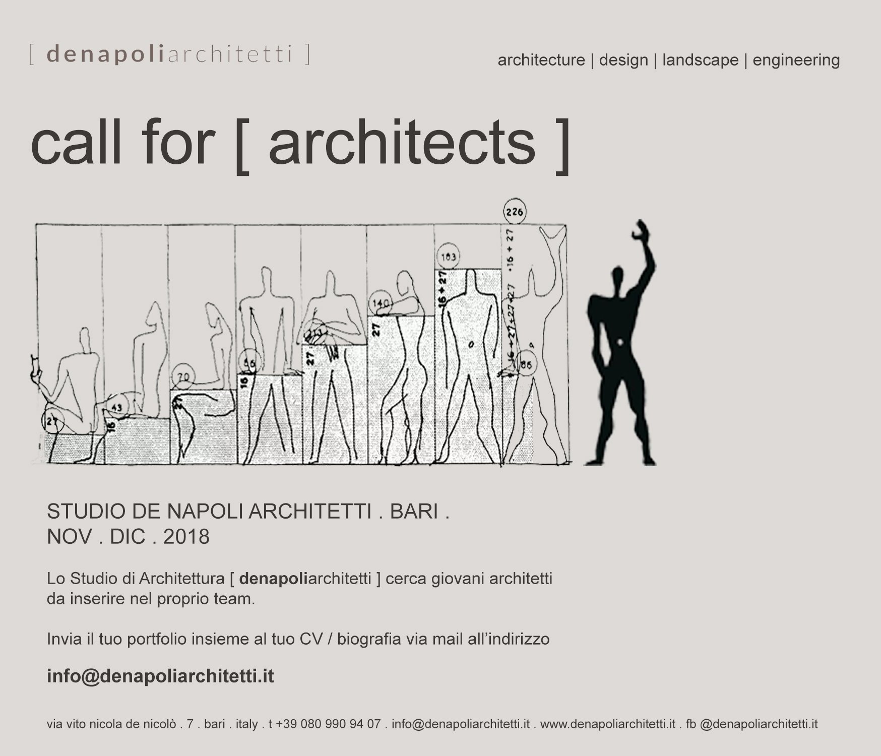 call for architects